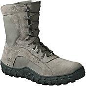 "Rocky Men's Sage Green S2V Tactical 8"" Steel Toe Work Boots"