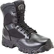 Rocky Men's AlphaForce Zipper Waterproof Tactical Boots