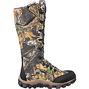 Rocky Men's Lynx Mossy Oak Break-Up Waterproof Snake Boots