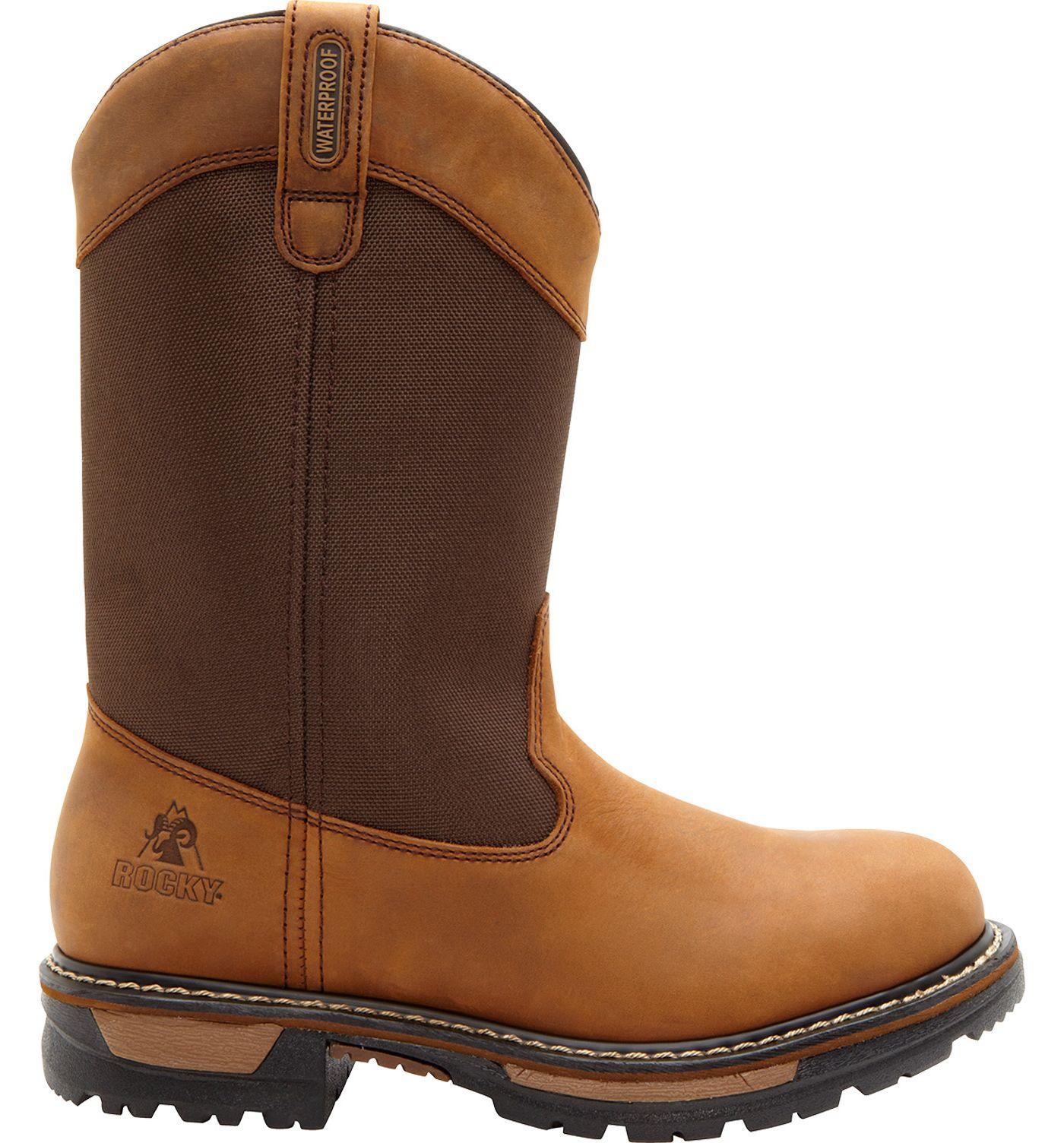 Rocky Men's Ride Waterproof 200g Wellington Work Boots