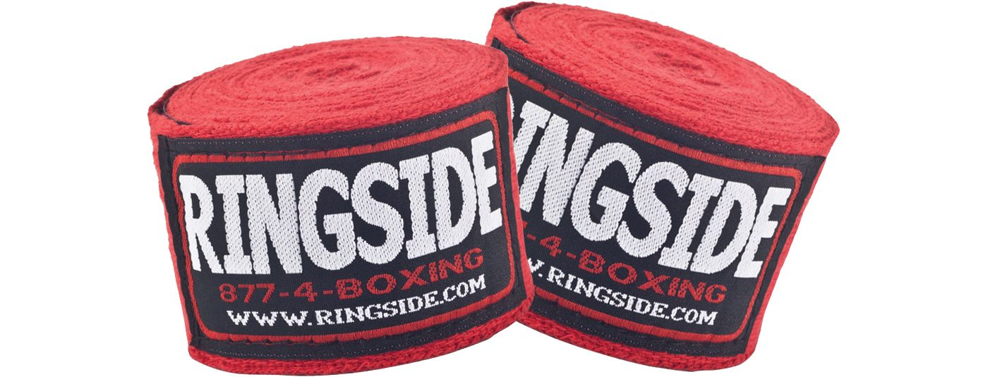 """Ringside 170"""" Standard Cotton Boxing Hand Wraps"""