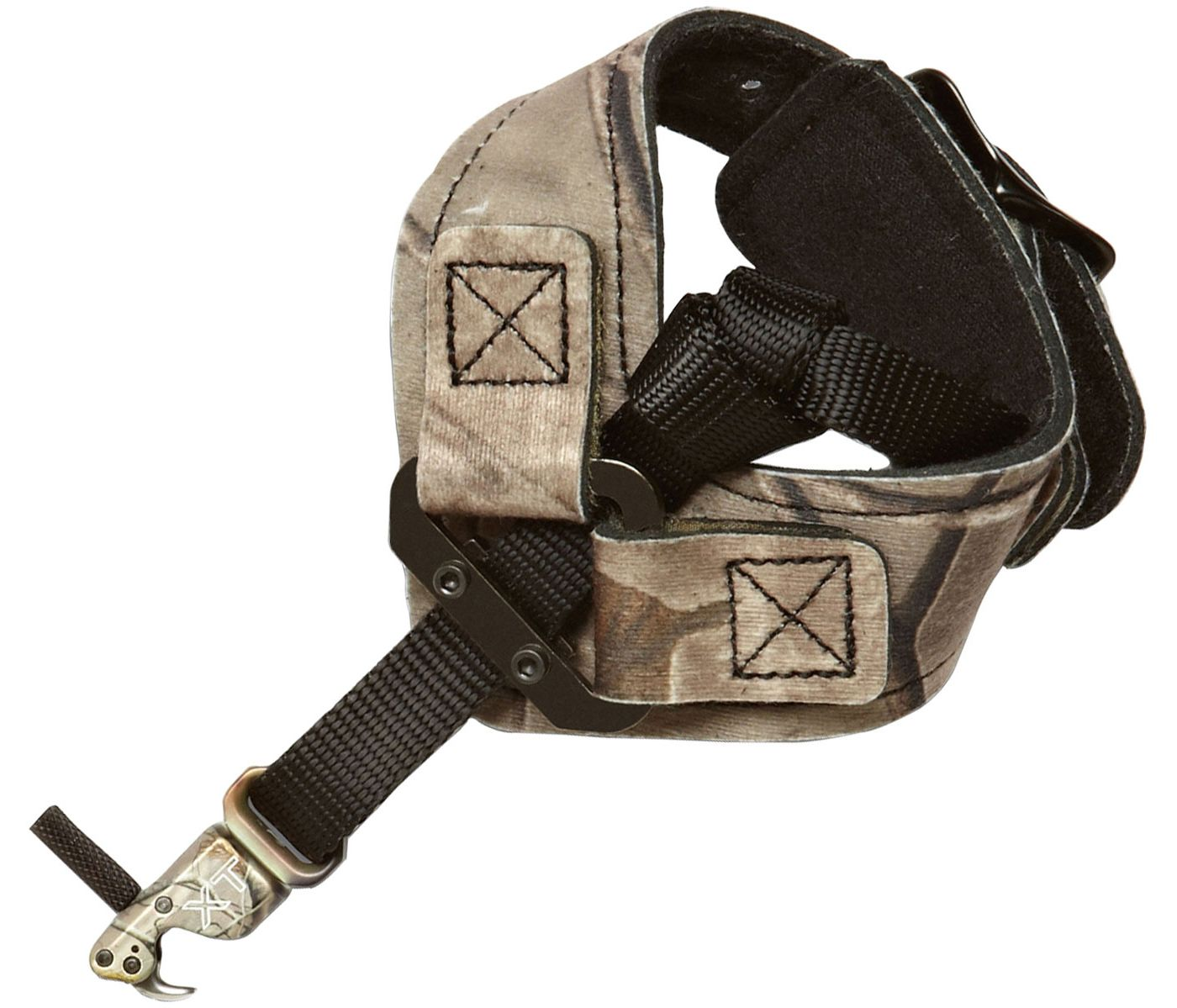 Scott Archery Rhino XT Camo String Loop Buckle Strap Release with Nylon Connector