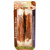 Pork Chomps Premium Large Duck Flavor Rollz