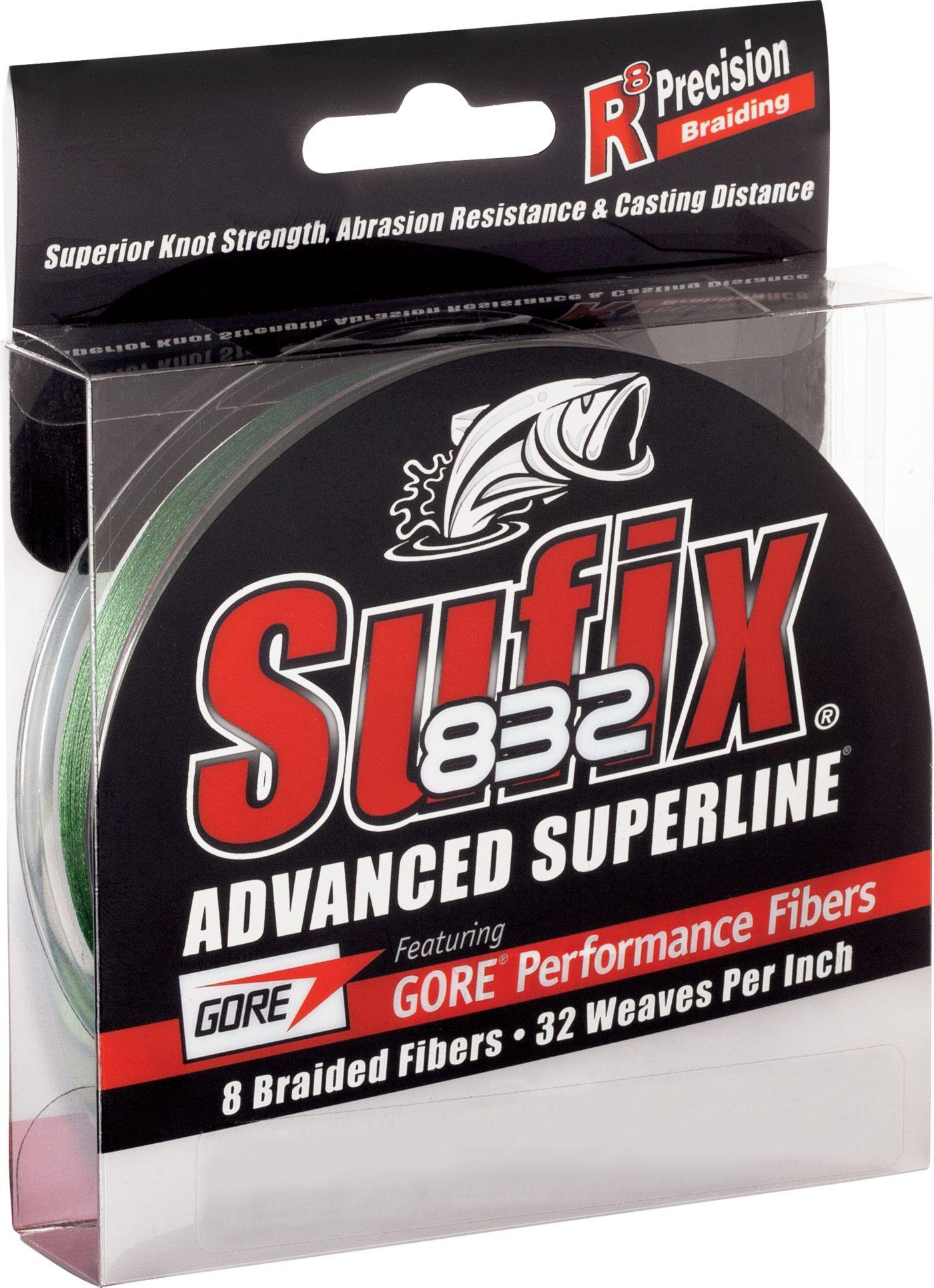 Sufix 832 Advanced Superline Green Braided Line