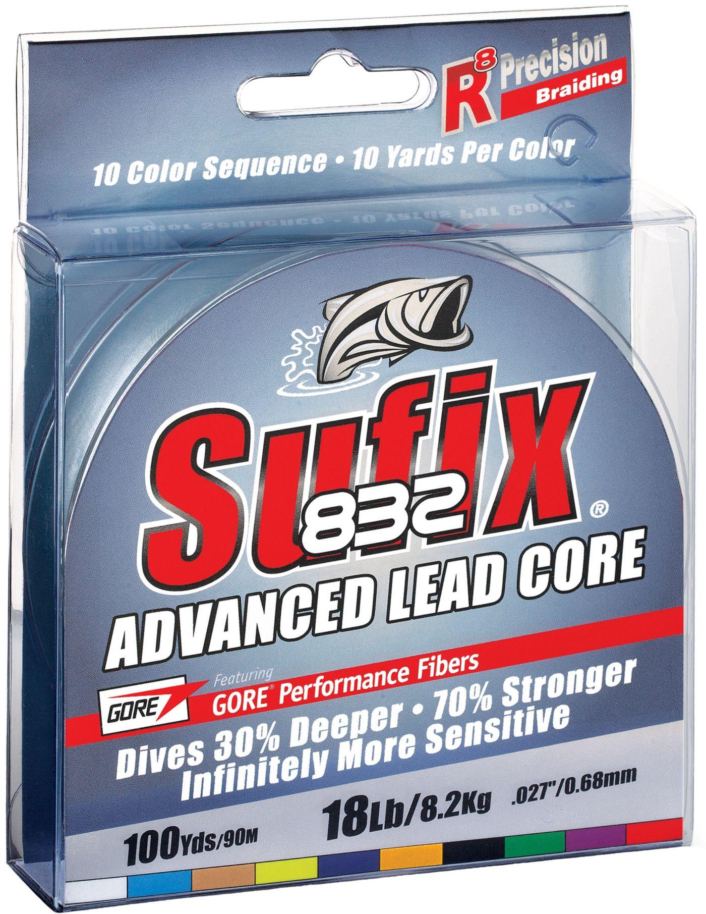 Sufix 832 Advanced Lead Core Monofilament Fishing Line