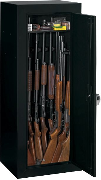 Stack-On 18 Gun Fully Convertible Steel Security Cabinet & Stack-On 18 Gun Fully Convertible Steel Security Cabinet | DICKu0027S ...