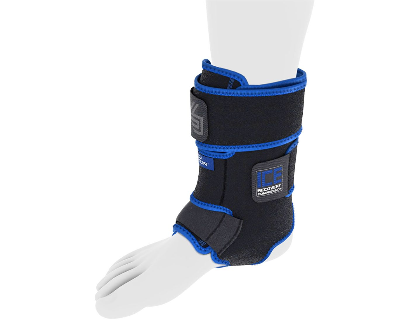 Shock Doctor ICE Recovery Ankle Compression Wrap