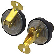 Shoreline Marine Brass Deck & Baitwell Plugs – 2 Pack