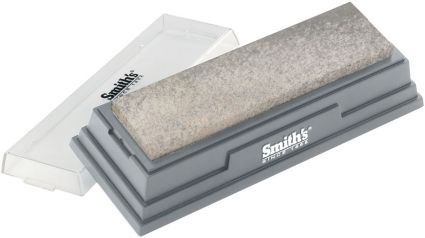 "Smith's 6"" Medium Arkansas Stone Knife Sharpener"