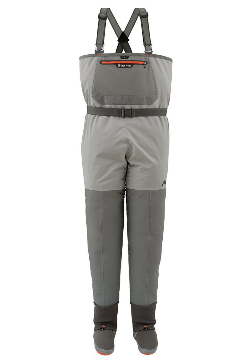 Simms Freestone Breathable Chest Waders, Men's, Size: XL, Grey thumbnail