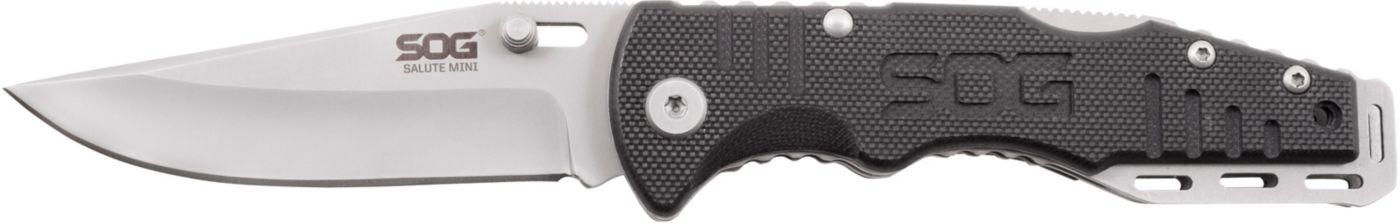 SOG Salute Mini Clip Point Folding Knife