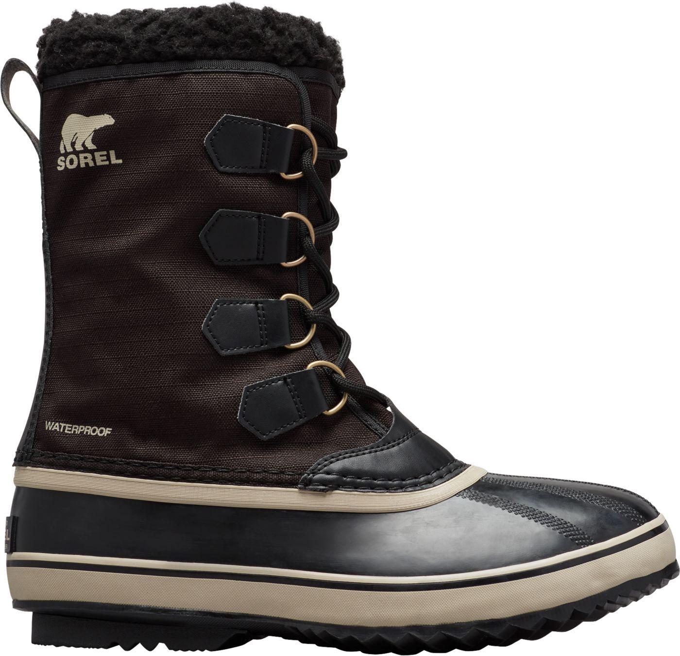 SOREL Men's 1964 Pac Nylon Waterproof Winter Boots