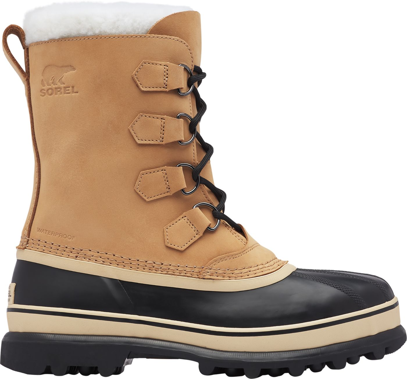 SOREL Men's Caribou Waterproof Winter Boots
