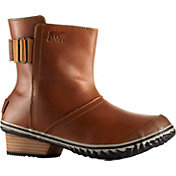 SOREL Women's Slimboot Pull On Leather Boots