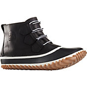 SOREL Women's Out N About Waterproof Leather Rain Boots