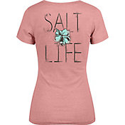 Salt Life Women's Tropic Life V-Neck T-Shirt
