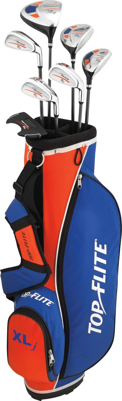 Top Flite Kids' XLj Complete Set (Ages 9-12) - Orange
