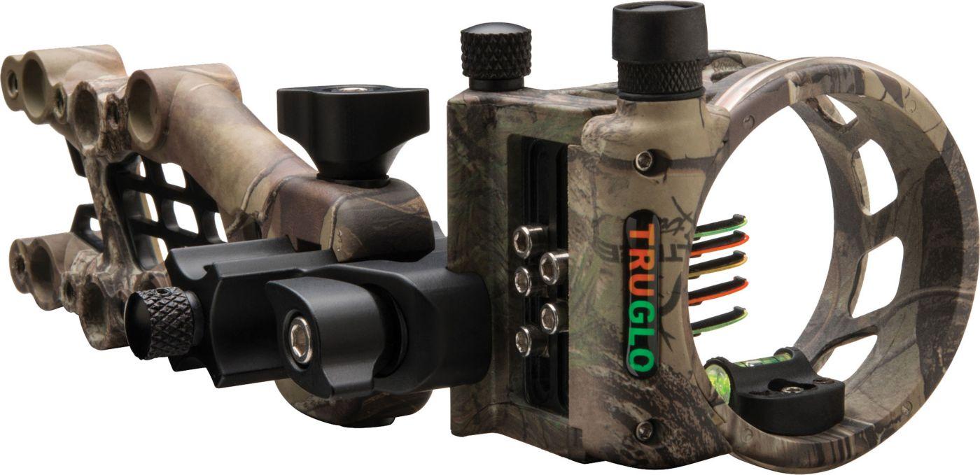 TRUGLO Carbon Hybrid 5-Pin Bow Sight – RH/LH