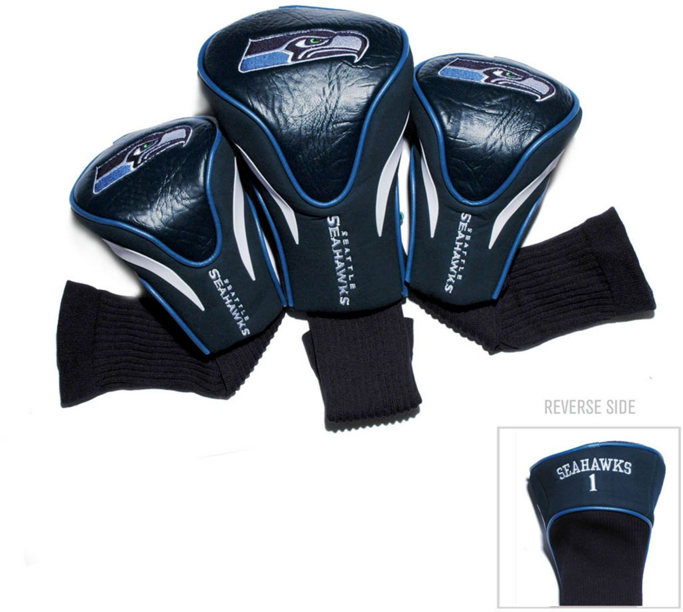 Team Golf Seattle Seahawks 3-Pack Contour Headcovers