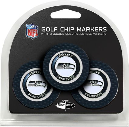 Team Golf Seattle Seahawks Golf Chips - 3 Pack