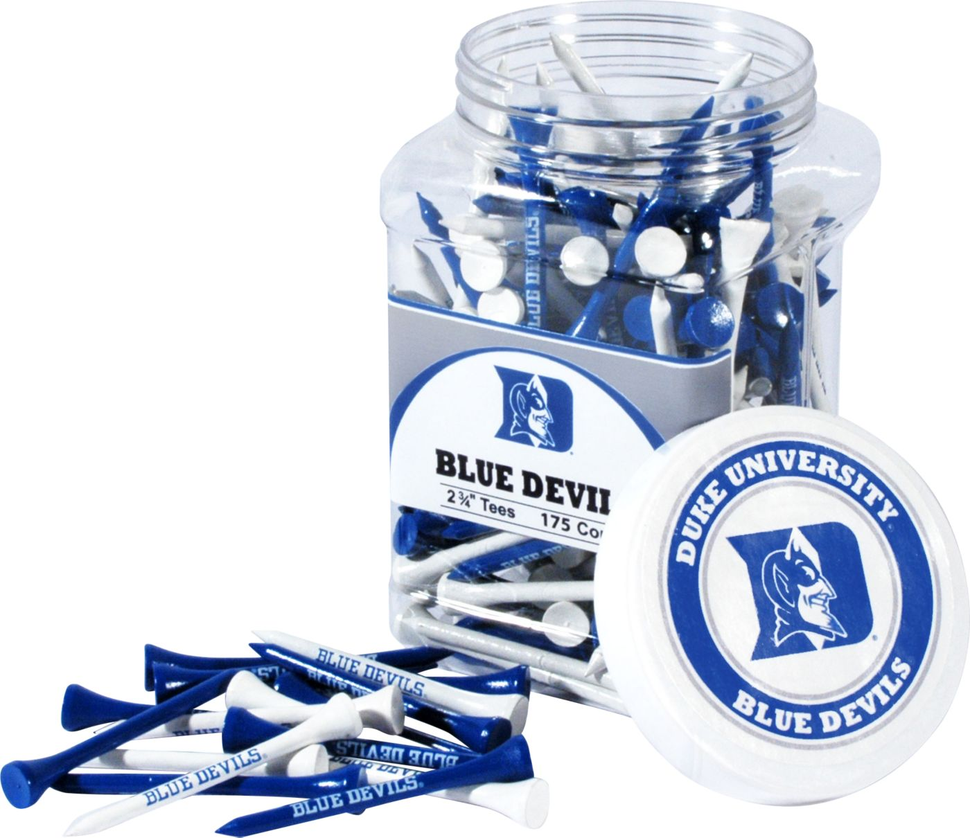 Team Golf Duke Blue Devils Tee Jar - 175 Pack