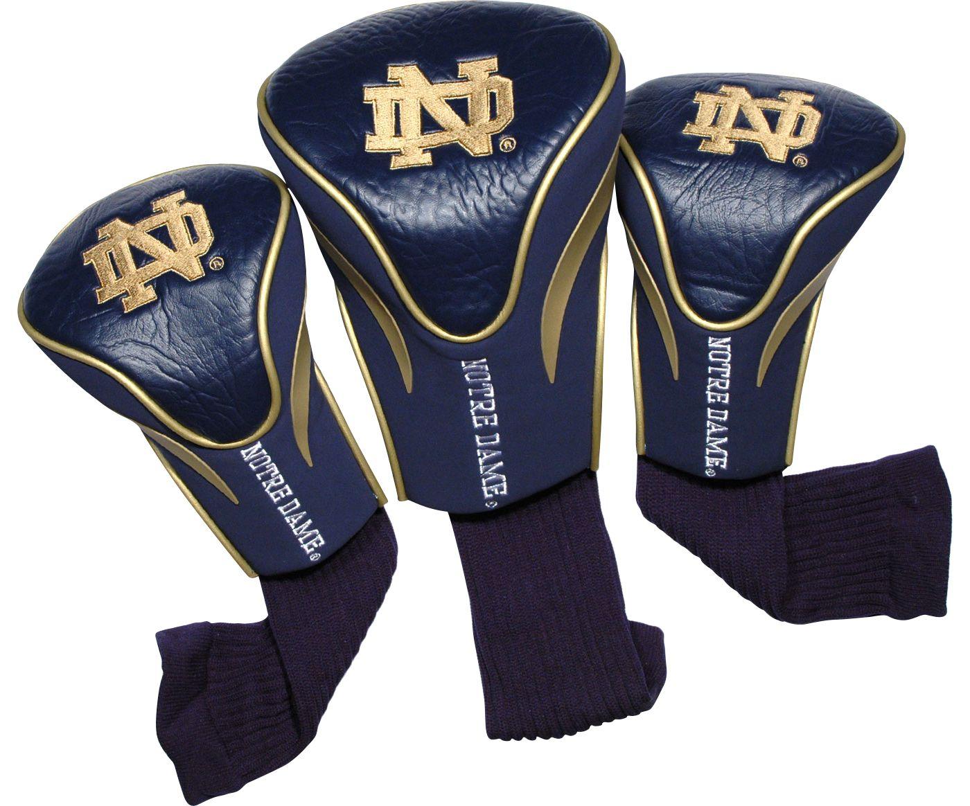 Team Golf Notre Dame Fighting Irish Contour Headcovers - 3-Pack