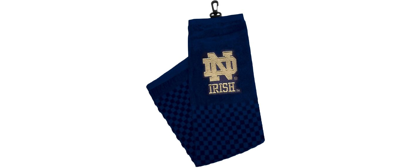Team Golf Notre Dame Fighting Irish NCAA Embroidered Towel