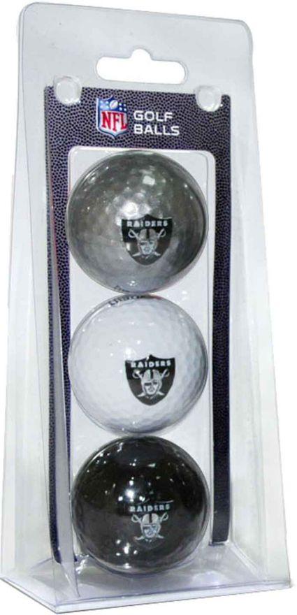 Team Golf Oakland Raiders Golf Balls - 3 Pack