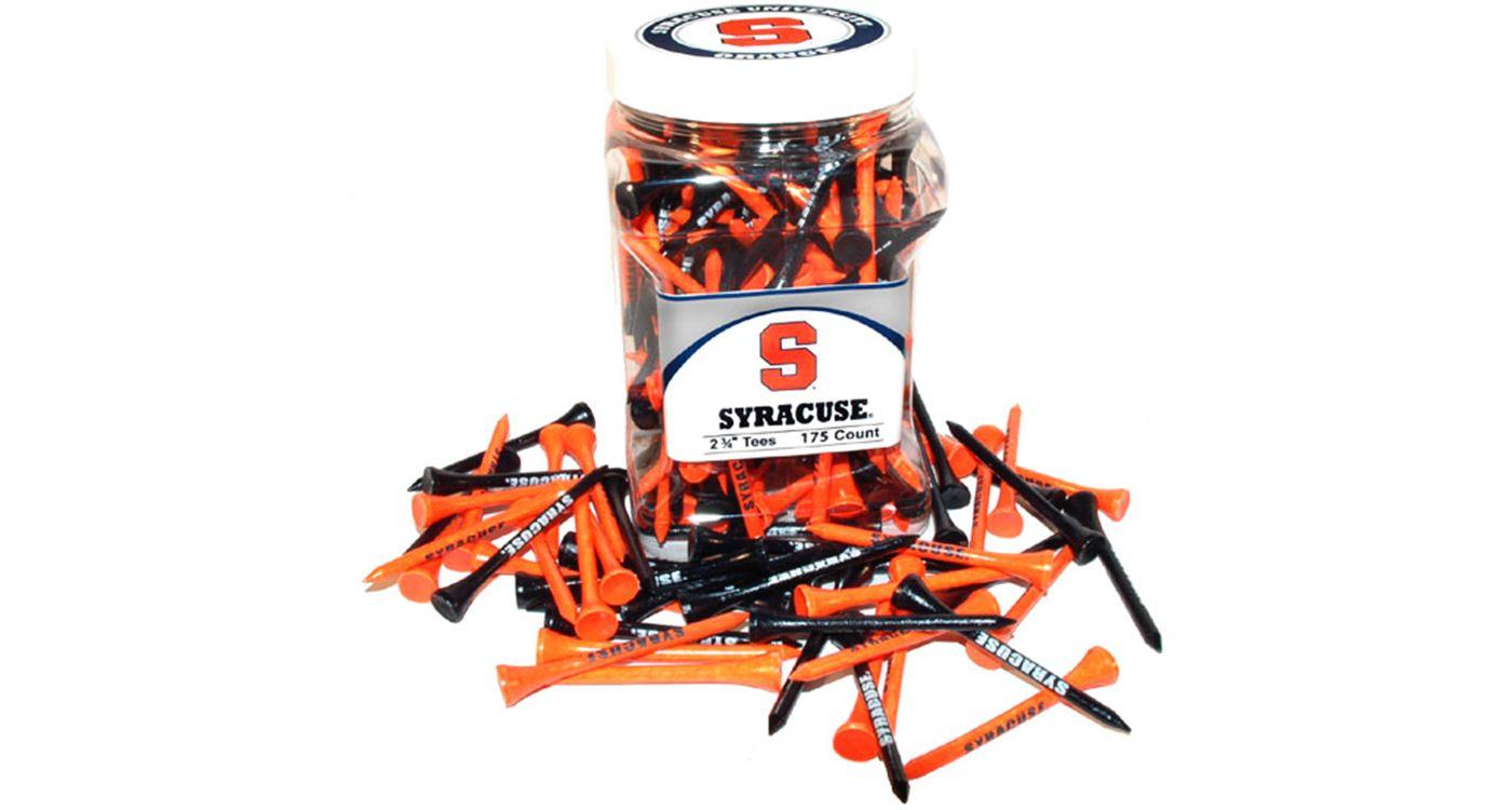 Team Golf Syracuse Orange Tee Jar - 175 Pack