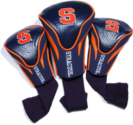 Team Golf Syracuse Orange Contour Sock Headcovers - 3 Pack