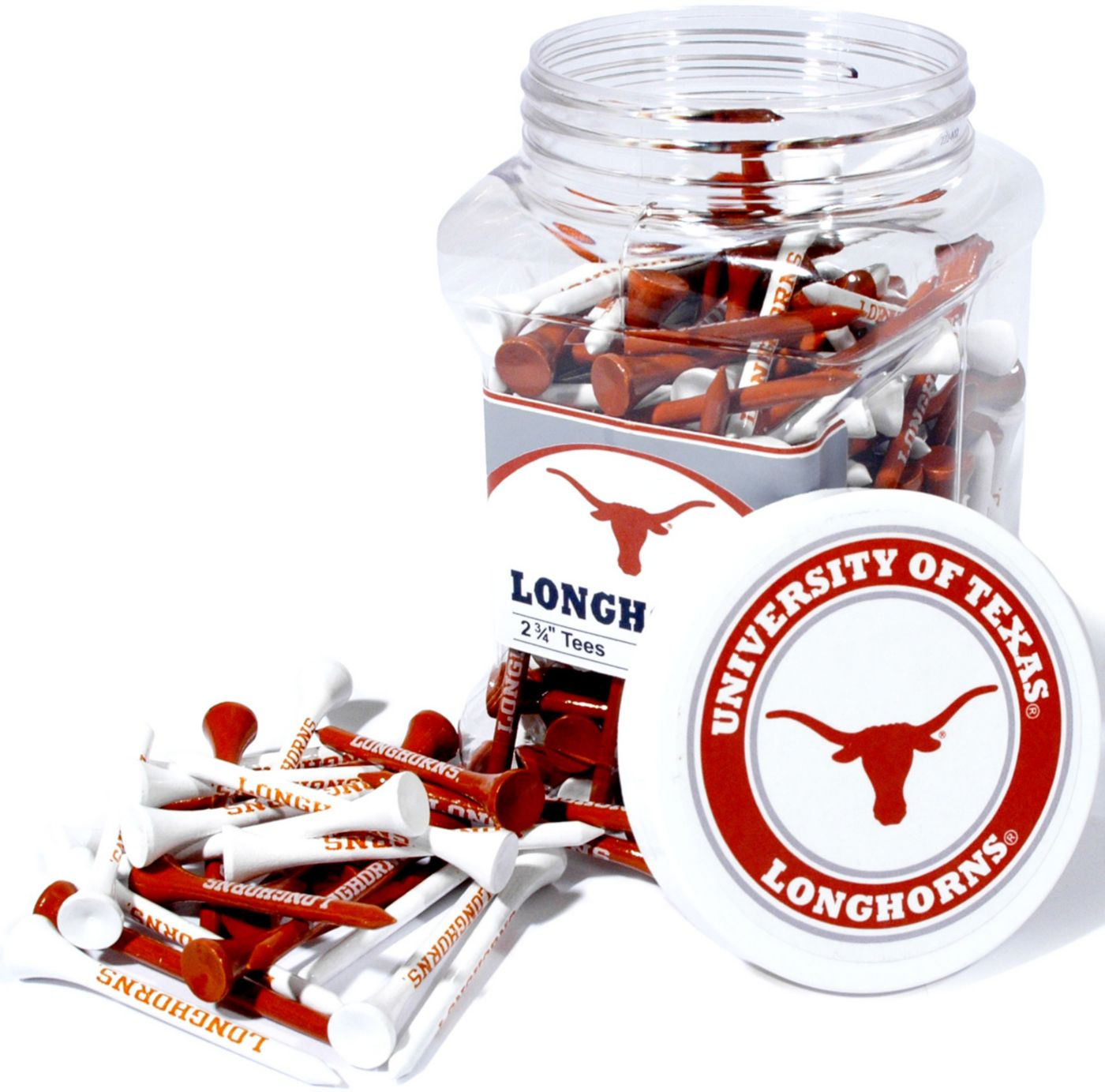 Team Golf Texas Longhorns Tee Jar - 175 Pack