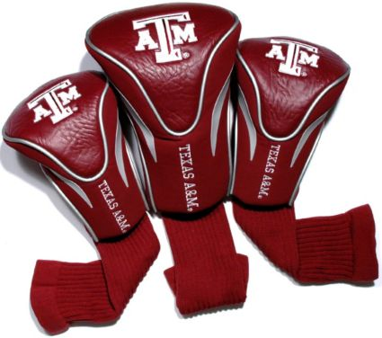 Team Golf Texas A&M Aggies Contour Sock Headcovers - 3 Pack