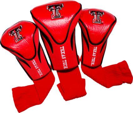Team Golf Texas Tech Red Raiders Contour Sock Headcovers - 3 Pack