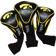 Team Golf Iowa Hawkeyes Contour Headcovers - 3-Pack