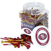 Team Golf San Francisco 49ers 175 Count Golf Tee Jar