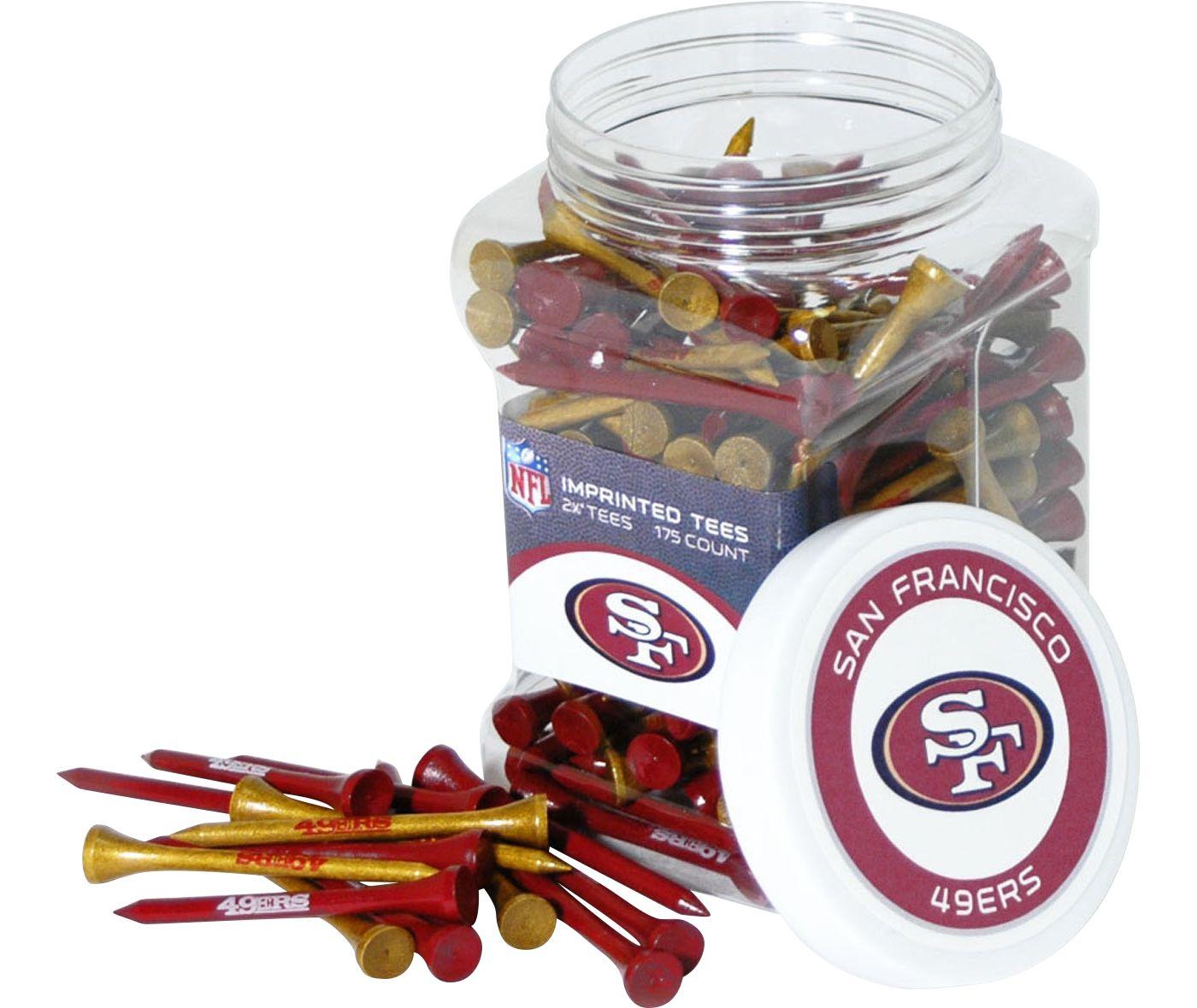 Team Golf San Francisco 49ers Tee Jar - 175 Pack