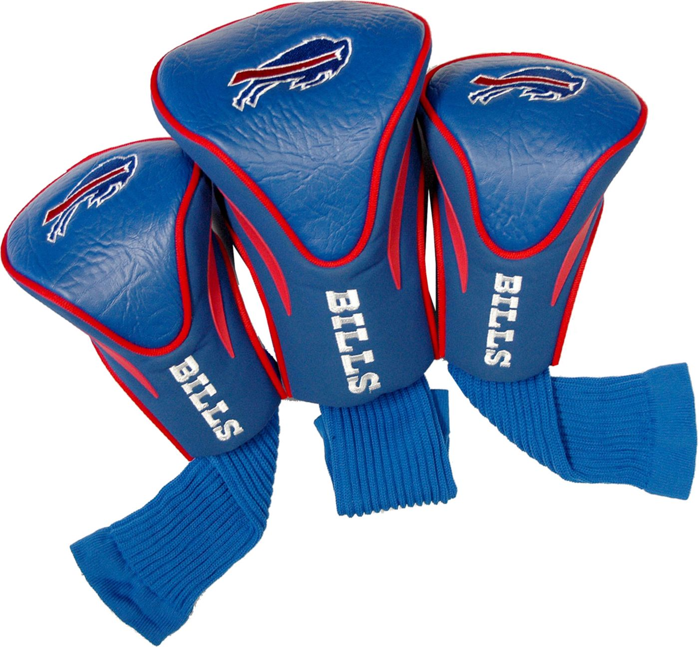 Team Golf Buffalo Bills Contour Sock Headcovers - 3 Pack