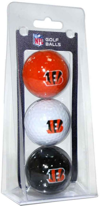 Team Golf Cincinnati Bengals Golf Balls - 3 Pack