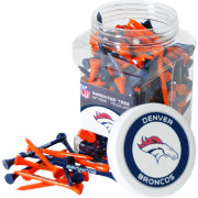 Team Golf Denver Broncos 175 Count Golf Tee Jar