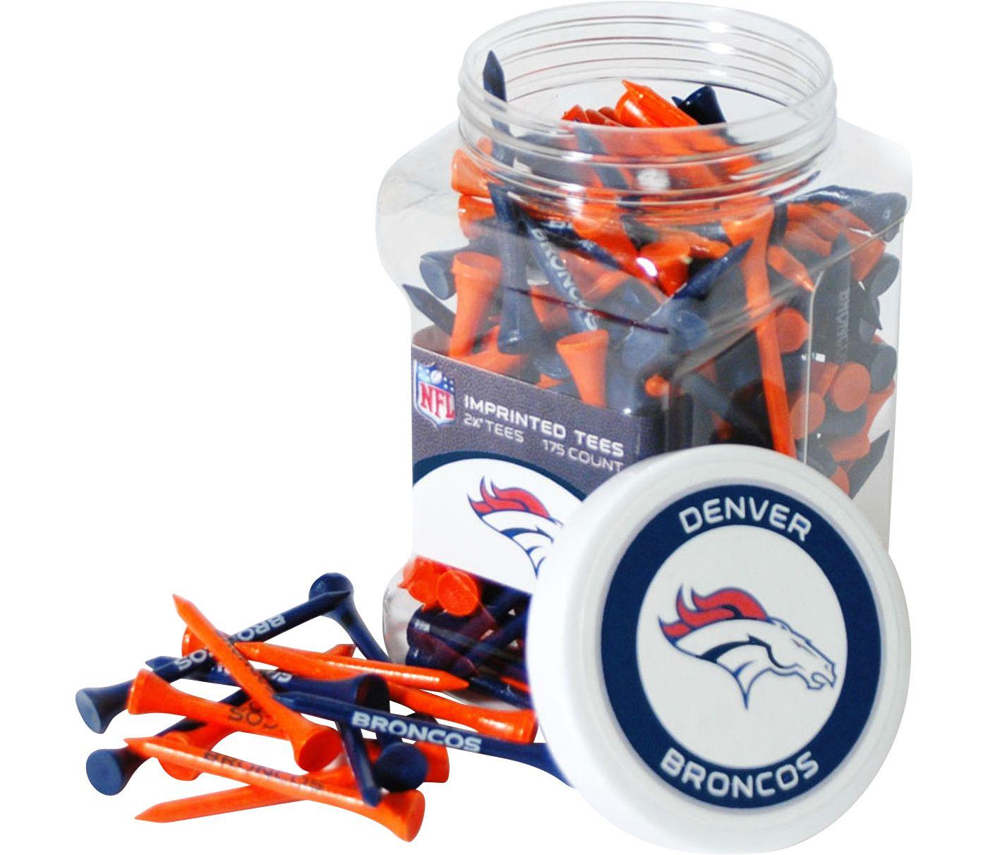 Team Golf Denver Broncos Tee Jar - 175 Pack