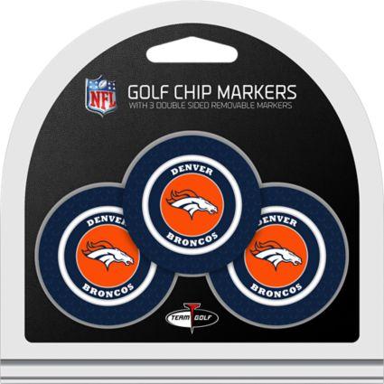 Team Golf Denver Broncos Golf Chips - 3 Pack
