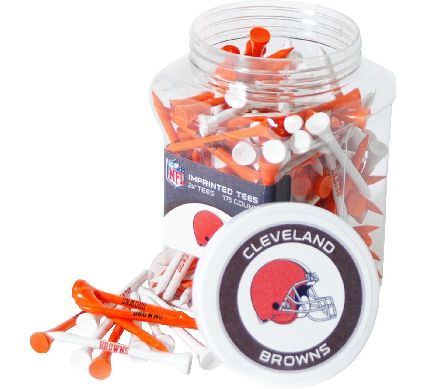 Team Golf Cleveland Browns Tee Jar - 175 Pack
