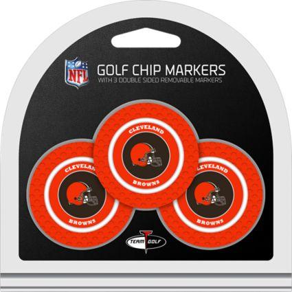 Team Golf Cleveland Browns Golf Chips - 3 Pack