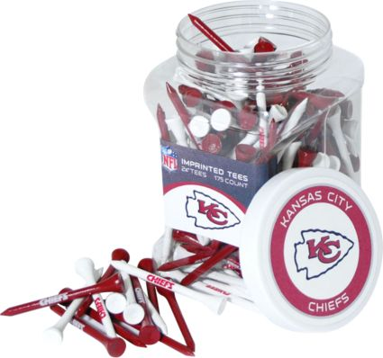 Team Golf Kansas City Chiefs Tee Jar - 175 Pack