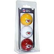 Team Golf Kansas City Chiefs Golf Balls – 3 Pack