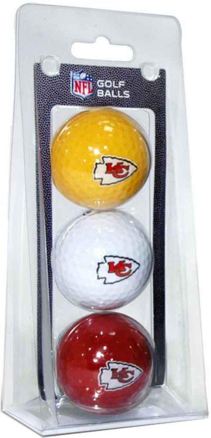 Team Golf Kansas City Chiefs Golf Balls - 3 Pack
