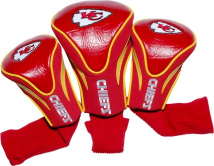 Team Golf Kansas City Chiefs Contour Sock Headcovers - 3 Pack