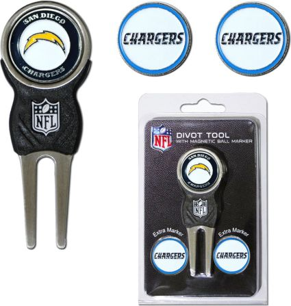 Team Golf San Diego Chargers Divot Tool and Marker Set