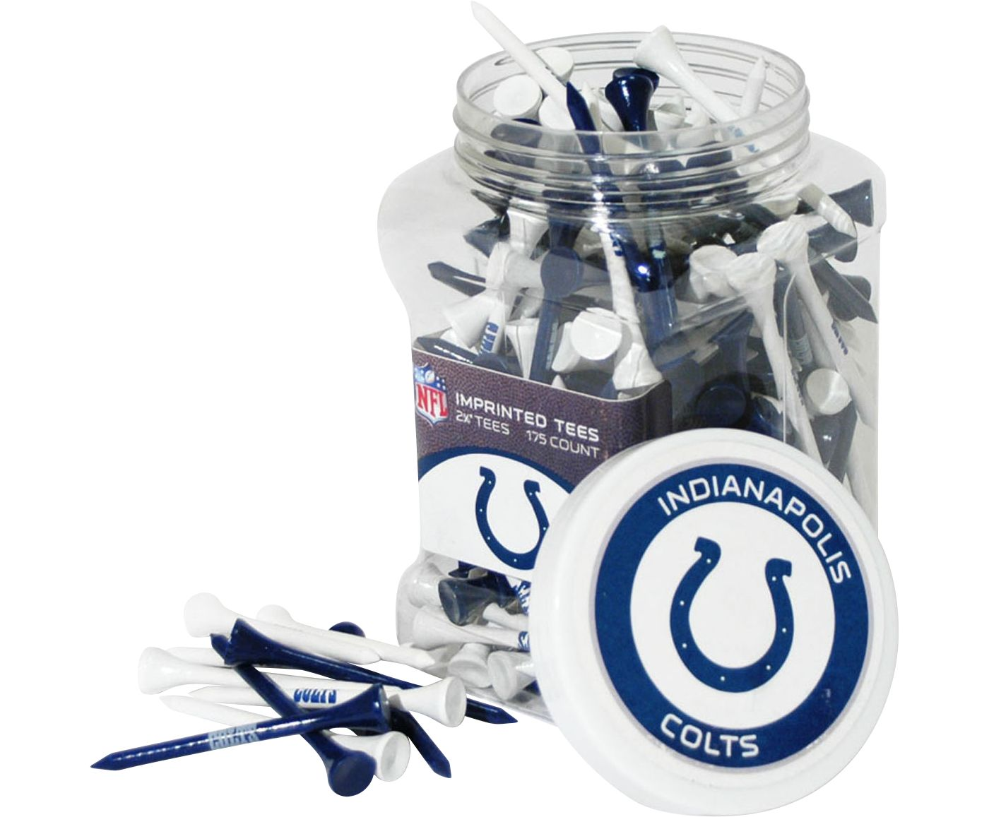 Team Golf Indianapolis Colts Tee Jar - 175 Pack