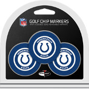 Team Golf Indianapolis Colts Poker Chips Ball Markers - 3-Pack